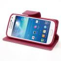 Samsung Galaxy S4 Mini Portfel Etui – Fancy Różowy