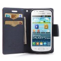 Samsung Galaxy Trend / Trend Plus Etui – Fancy Czerwony