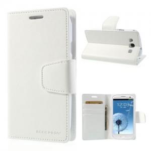 Samsung Galaxy S3 - etui na telefon i dokumenty - Sonata białe