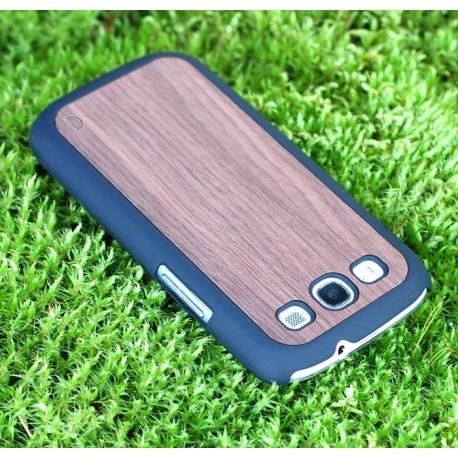 Samsung Galaxy S3 - etui na telefon - Drewno Walnut