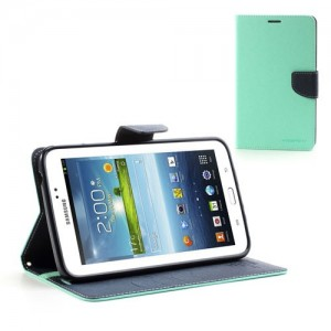 Samsung Galaxy Tab 3 7.0 - etui na tablet - Fancy cyjan