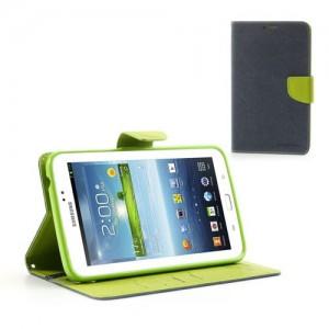 Samsung Galaxy Tab 3 7.0 - etui na tablet - Fancy niebieskie