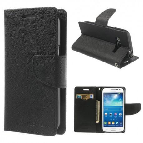 Samsung Galaxy Express 2 - etui na telefon i dokumenty - Fancy czarne