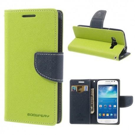 Samsung Galaxy Express 2 - etui na telefon i dokumenty - Fancy zielone