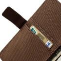 Samsung Galaxy Note 3 Etui – Materiał Brązowy