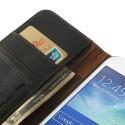 Samsung Galaxy Grand 2 Portfel Etui – Litchi Czarne
