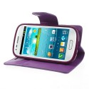Samsung Galaxy S3 Mini Portfel Etui – Sonata Purpurowy