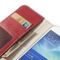 Samsung Galaxy Grand 2 Portfel Etui – Litchi Czerwony