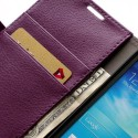 Samsung Galaxy S4 Active Etui – Litchi Purpurowy
