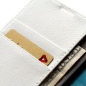 Samsung Galaxy S4 Active Etui – Litchi Białe