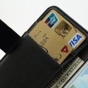 Samsung Galaxy Express Portfel Etui – Litchi Czarne