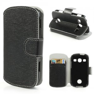 Samsung Galaxy Xcover 2 - etui na telefon i dokumenty - SG czarne