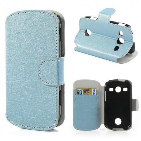 Samsung Galaxy Xcover 2 - etui na telefon i dokumenty - SG niebieskie