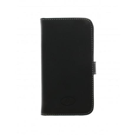 Samsung Galaxy Core Plus - etui skórzane na telefon i dokumenty - Insmat czarne Katalog Produkty