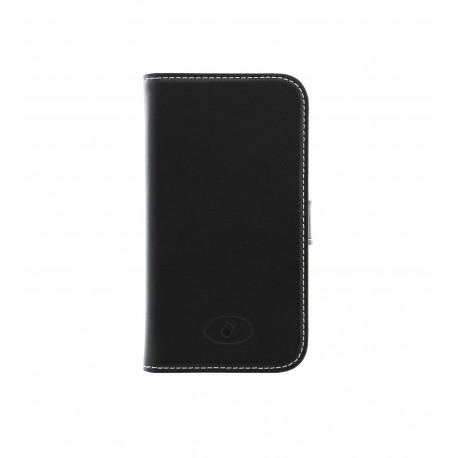 Samsung Galaxy Ace 3 - etui skórzane na telefon i dokumenty - Insmat czarne V