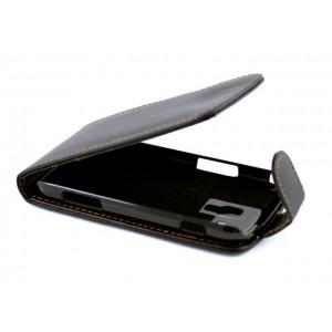 Samsung Galaxy S3 Mini - etui na telefon i dokumenty - AA czarne