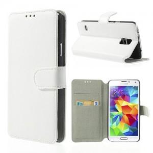 Samsung Galaxy S5 - etui na telefon i dokumenty - SK Style białe