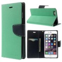Apple iPhone 6 Plus Portfel Etui – Fancy Cyjan