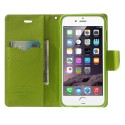 Apple iPhone 6 Plus Portfel Etui – Fancy Niebieski
