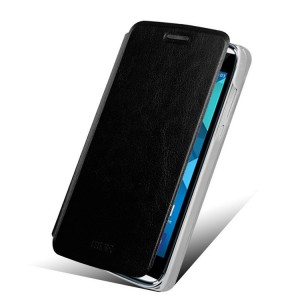 Alcatel One Touch Idol Alpha - etui na telefon i dokumenty - MOFI Rui czarne