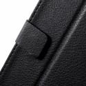 HTC Desire 820 Portfel Etui – Lychee Czarne