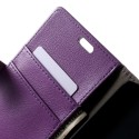 HTC Desire 820 Portfel Etui – Lychee Purpurowy
