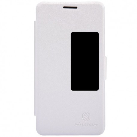 Huawei Honor 6 - etui na telefon - Nillkin Fresh białe