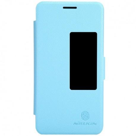 Huawei Honor 6 - etui na telefon - Nillkin Fresh niebieskie
