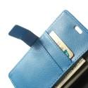 Huawei Honor 6 Portfel Etui – Litchi Niebieski