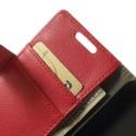 Nokia Lumia 630 Portfel Etui Litchi – Czerwony