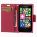 Nokia Lumia 630 / 635 Portfel Etui – Fancy Różowy