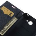 HTC Desire 516 Portfel Etui – Fancy Ciemny Różowy