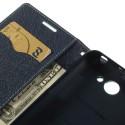 HTC Desire 516 Portfel Etui – Fancy Cyjan