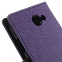 HTC Desire 516 Portfel Etui – Fancy Purpurowy