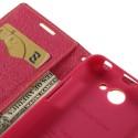 HTC Desire 516 Portfel Etui – Fancy Żółty