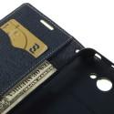 HTC Desire 516 Portfel Etui – Fancy Zielone