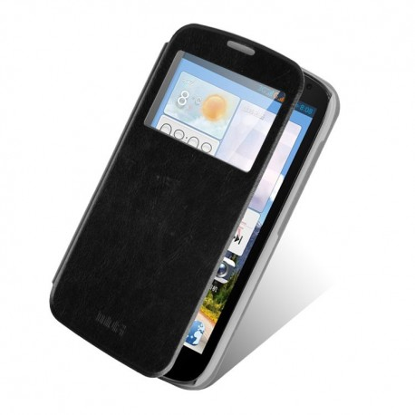 Huawei Ascend G610 - etui na telefon - MOFI Rui czarne