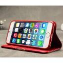 Apple iPhone 6 Skórzane Etui – KLD Royale II Czerwony