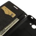 HTC Desire 516 Portfel Etui – Fancy Brązowy