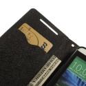 HTC Desire 610 Portfel Etui – Fancy Czarne