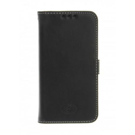 Huawei Ascend Y550 - etui skórzane na telefon i dokumenty - Insmat czarne