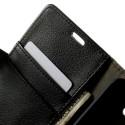 Huawei Ascend Y550 Portfel Etui – Litchi Czarne