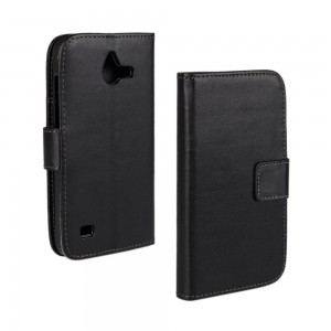 Huawei Ascend Y550 - etui na telefon i dokumenty - czarne