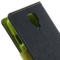 LG F70 Portfel Etui – Goospery Fancy Niebieski