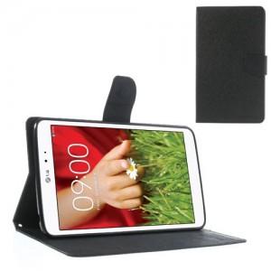 LG G Pad 8.3 V500 - etui na telefon i dokumenty - Fancy Goospery czarne