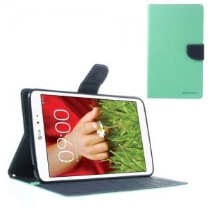 LG G Pad 8.3 V500 - etui na telefon i dokumenty - Fancy Goospery cyjan