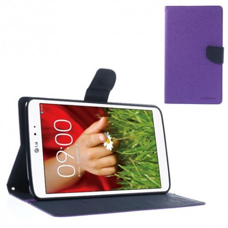 LG G Pad 8.3 V500 - etui na tablet - Fancy Goospery purpurowe