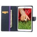 LG G Pad 8.3 V500 Etui – Goospery Fancy Purpurowy