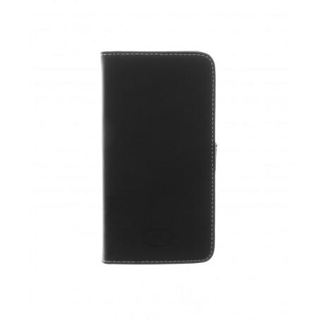 LG G2 D802 - etui skórzane na telefon i dokumenty - Insmat czarne