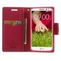 LG G2 Mini Portfel Etui – Goospery Fancy Różowy
